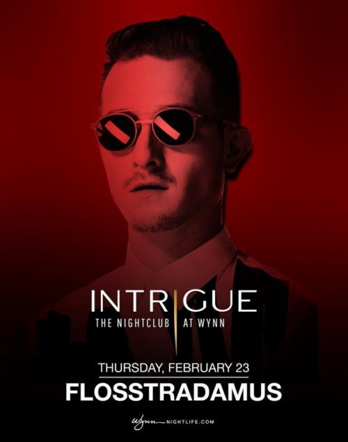 Intrigue Nightclub Las Vegas, Featuring Flosstradamus
