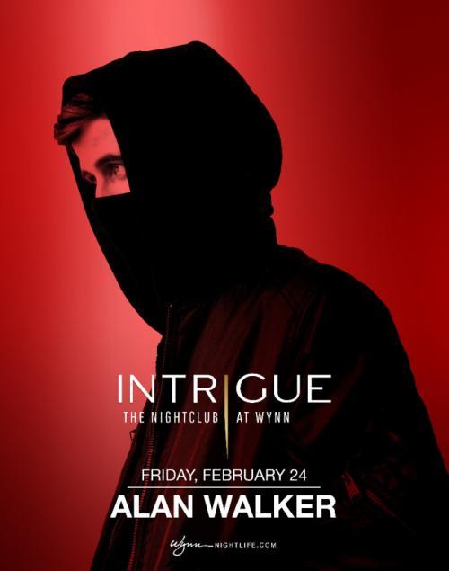 Intrigue Nightclub Las Vegas, Featuring Alan Walker