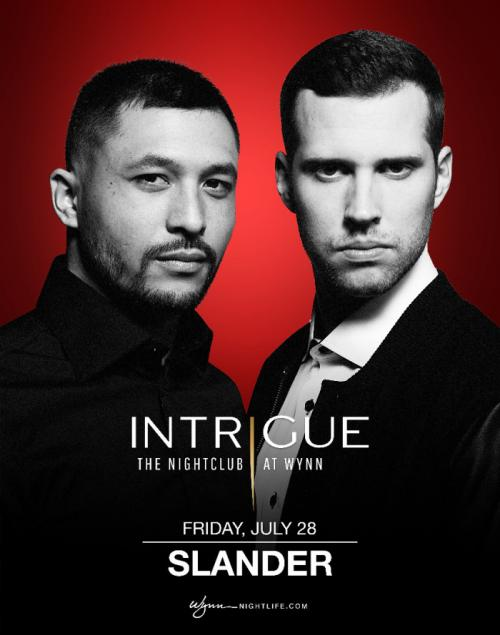 Intrigue Nightclub Las Vegas, Featuring Slander