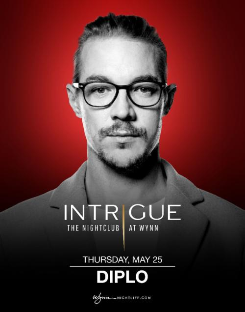 Intrigue Nightclub Las Vegas, Featuring Diplo