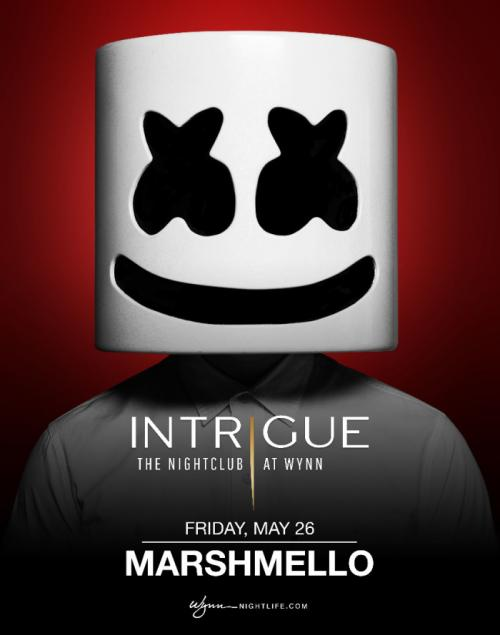 Intrigue Nightclub Las Vegas, Featuring Marshmello
