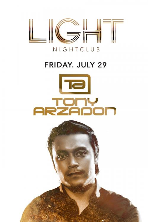 Light Nightclub Las Vegas, Featuring TONY ARZADON