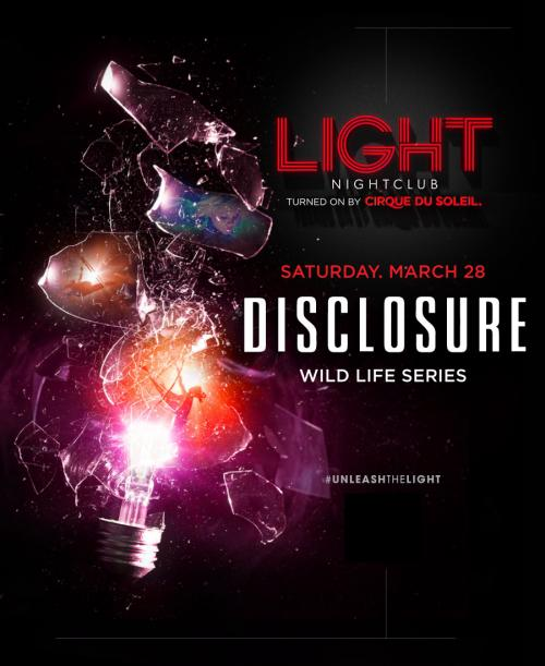 Light Nightclub Las Vegas, Featuring DISCLOSURE WILD LIFE SERIES