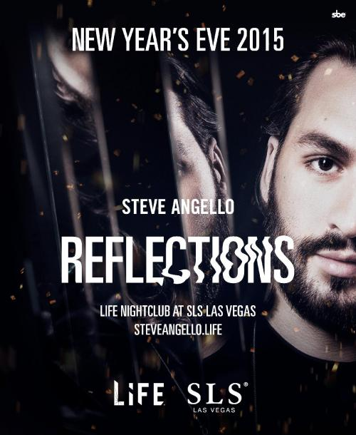 Life at SLS New Years Party with Steve Angello