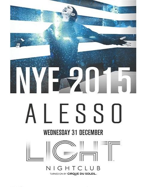 Light Nightclub NYE Las Vegas, Featuring Alesso