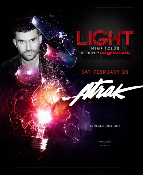 Light Nightclub Las Vegas, Featuring A-Trak