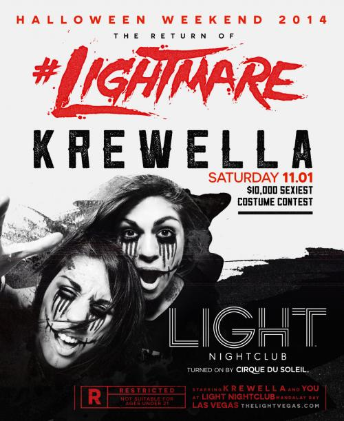 Light Nightclub NYE Las Vegas, Featuring Krewella