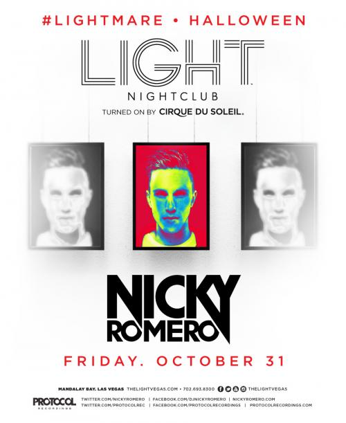 The Light Nightclub Las Vegas Halloween Feat Nicky Romero