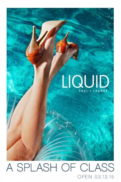 Liquid Pool Party Club Las Vegas, Featuring LIQUID POOL PARTY SEASON 2015