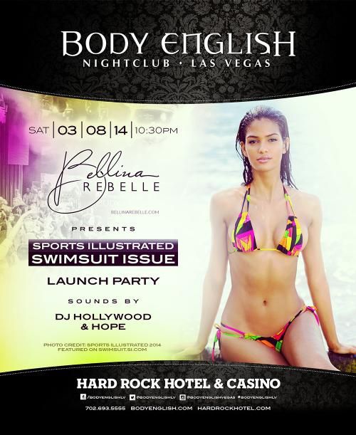 Body English Nightclub,Las Vegas, Featuring Bellina Rebelle