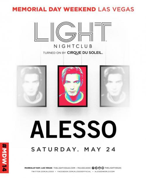 MDW Light Nightclub Las Vegas, Featuring Alesso