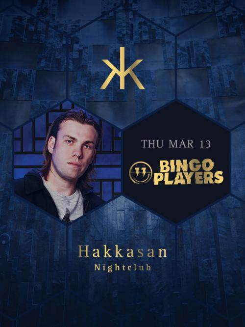 Hakkasan Nightclub,Las Vegas, Featuring Bingo Players