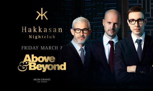 Hakkasan Nightclub,Las Vegas, Featuring Above and Beyond