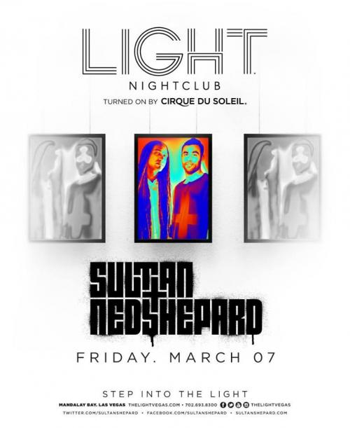 Light Nightclub,Las Vegas, Featuring Sultan and Ned Shepard