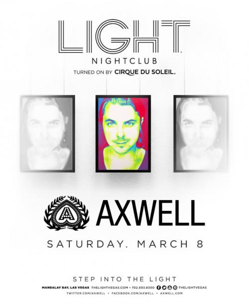 Light Nightclub,Las Vegas, Featuring Axwell