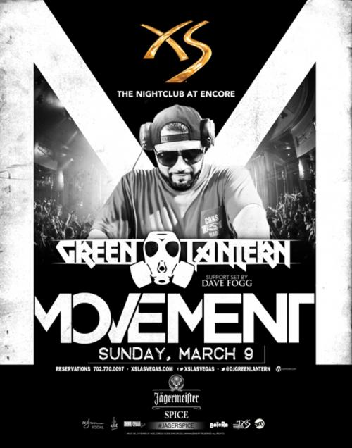 XS Nightclub Las Vegas, Featuring Green Lantern