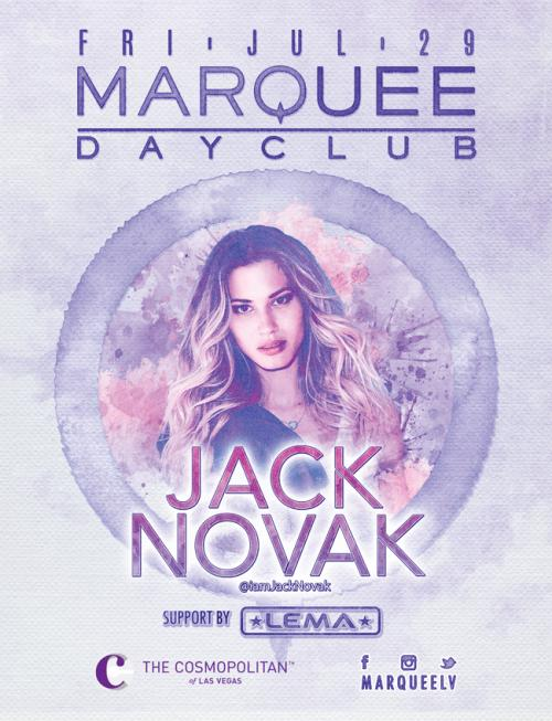 Marquee Day Club Pool, featuring Jack Novak