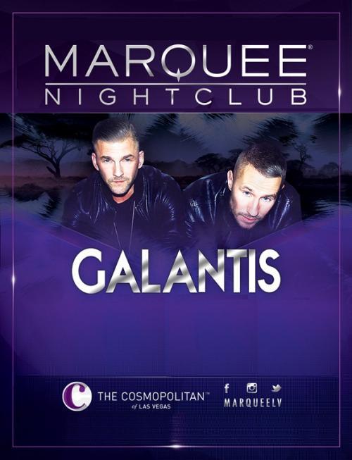 Marquee Nightclub Las Vegas, Featuring DJ Glantis