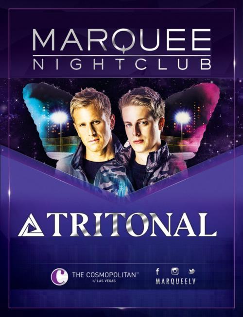Marquee Nightclub Las Vegas, Featuring DJ Tritonal
