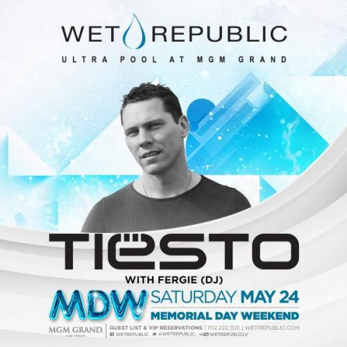 MDW @ Wet Republic Las Vegas, Featuring Tiesto