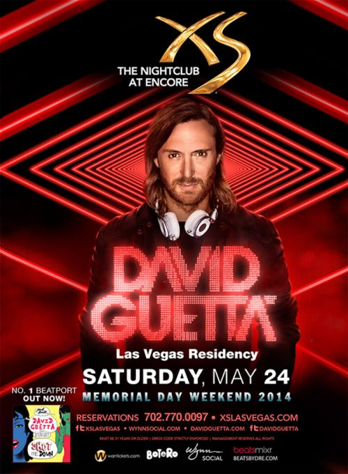 MDW XS Nightclub Las Vegas, Featuring David Guetta