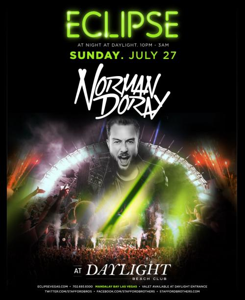 Daylight Beach Club Las Vegas, Featuring Norman Doray & Steve Powers