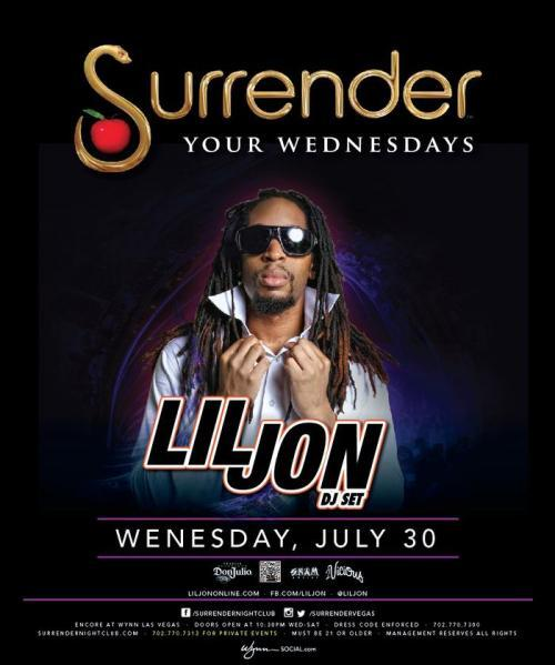 Surrender Nightclub Las Vegas Featuring Lil Jon