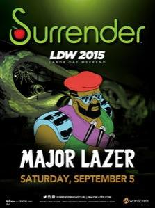 Surrender Nightclub Las Vegas, Featuring Major Lazer