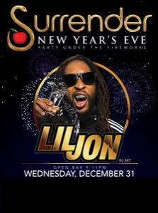 Surrender Nightclub NYE Las Vegas, Featuring Lil Jon