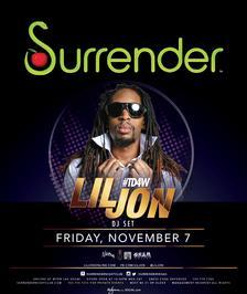 Surrender Nightclub Las Vegas, Featuring Lil Jon