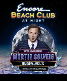 Encore Beach Club Pool Party Las Vegas, Featuring MARTIN SOLVEIG