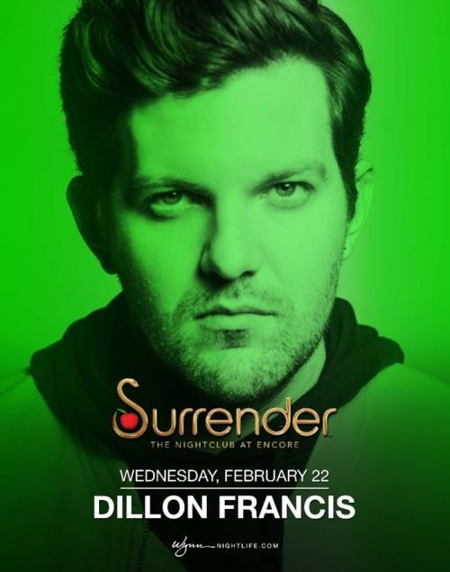 Surrender Nightclub Las Vegas, Featuring Dillon Francis