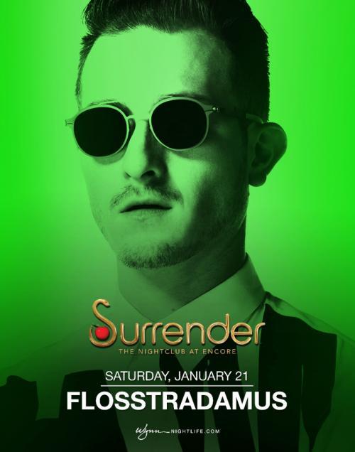 Surrender Nightclub Las Vegas, Featuring Flosstradamus