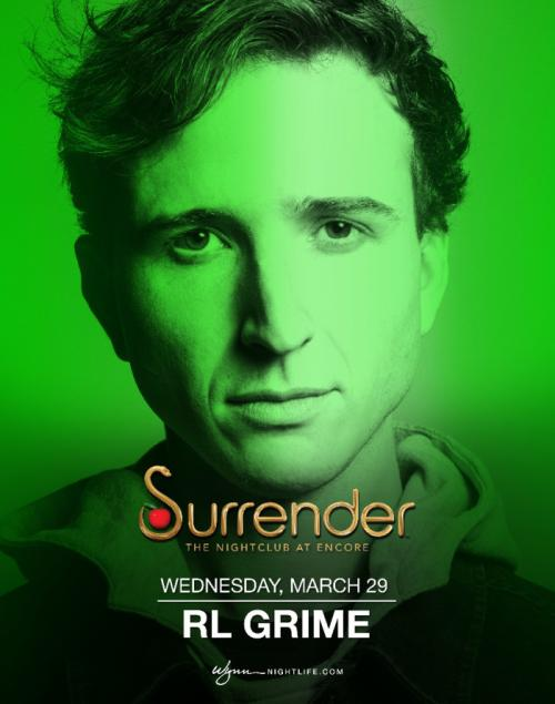 Surrender Nightclub Las Vegas, Featuring RL Grime