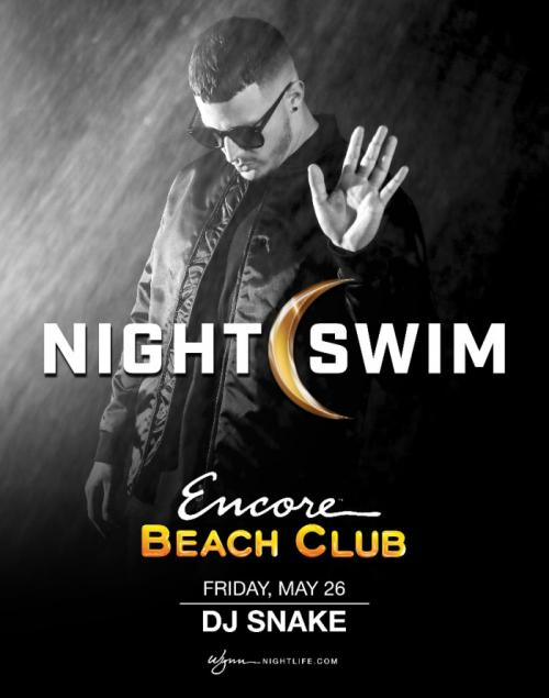 Surrender Las Vegas, Night Swim Featuring DJ Snake