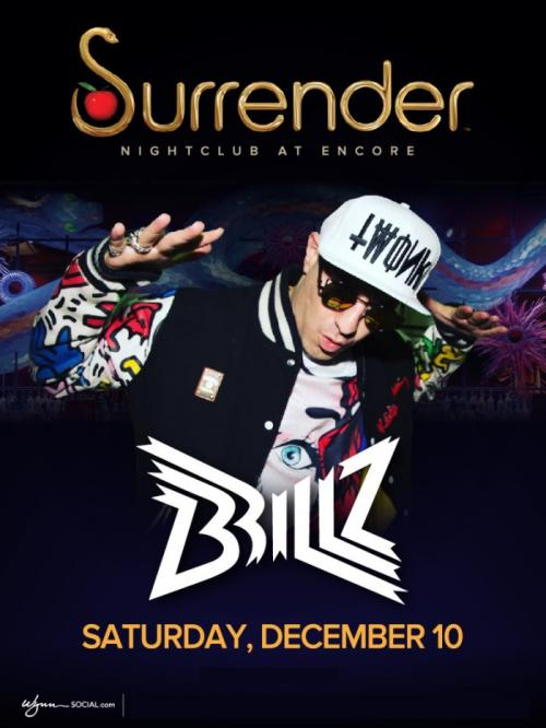 Surrender Nightclub Las Vegas, Featuring Brillz