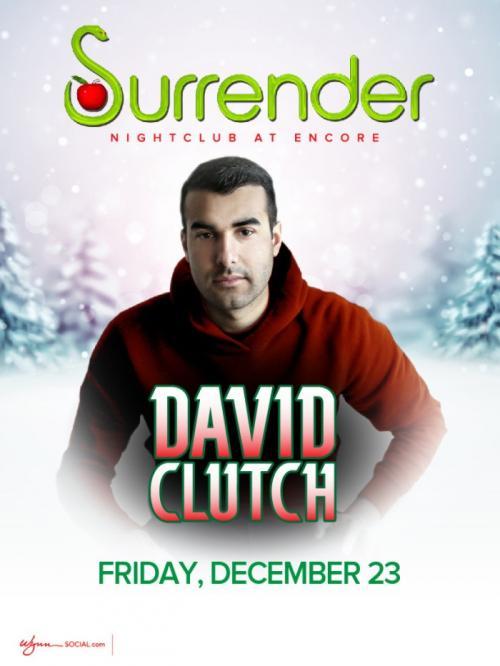 Surrender Nightclub Las Vegas, David Clutch