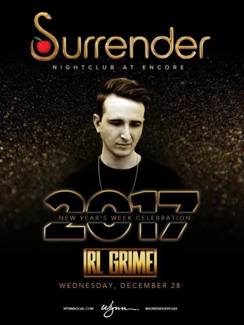 Surrender Nightclub Las Vegas, Featuring RL Grime