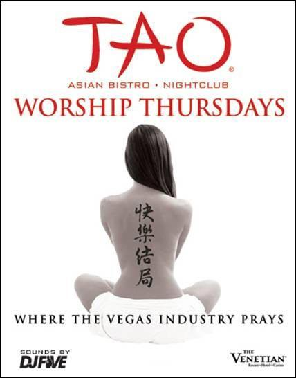 TAO Nightclub,Las Vegas, Worship Thursdays