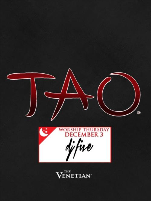 Tao Nightclub Las Vegas, DJ Five