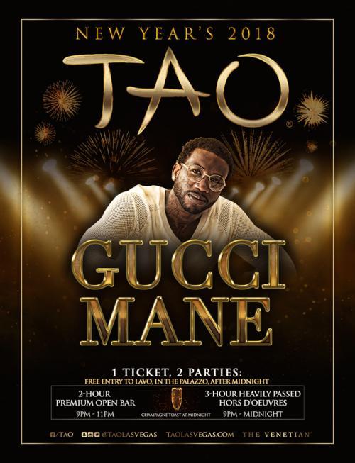 Tao Nightclub Las Vegas, Featuring Gucci Mane