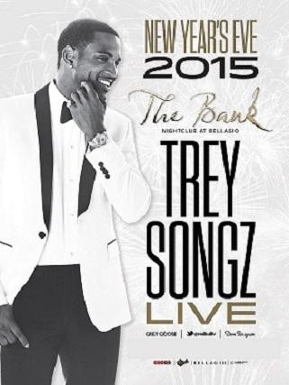 The Bank Nightclub NYE 2015 Las Vegas, Featuring Trey Songz