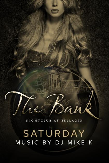 The Bank Nightclub Las Vegas, Featuring DJ MIKE K