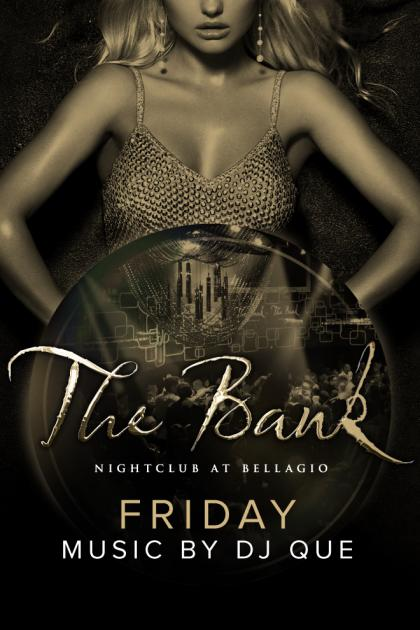The Bank Nightclub Las Vegas, Featuring DJ Que