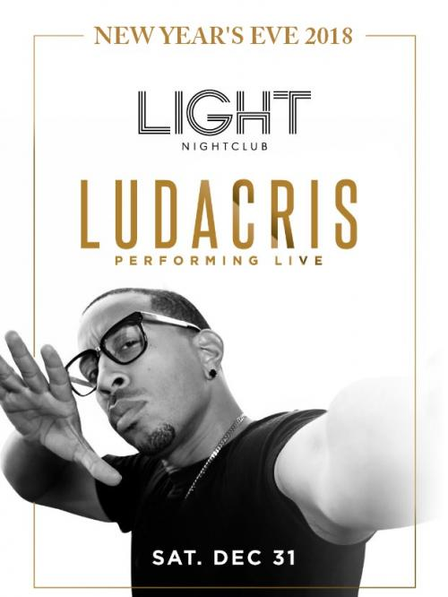 The Light Nightclub, NYE 2018 Featuring Ludacris
