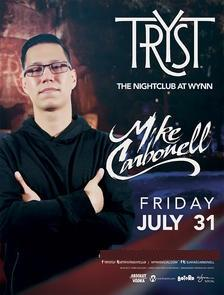 Tryst Nightclub Las Vegas, Featuring Mike Carbonell