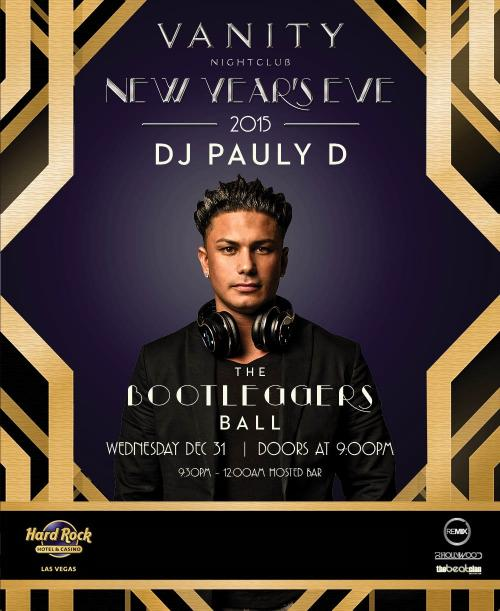 Vanity Nightclub NYE 2015 Party with DJ Pauly D