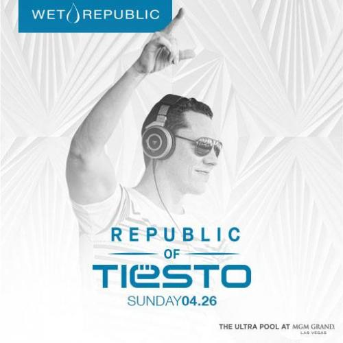 Wet Republic Pool Party Las Vegas, Featuring TIESTO