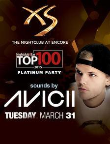 XS Nightclub Las Vegas, Featuring AVICII TOP 100 PARTY