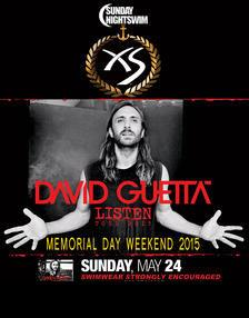 XS Nightclub Las Vegas, Featuring DAVID GUETTA ( XS Nightswim Pool Party)